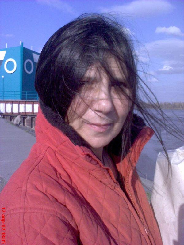 Елизавета Гундарина. На холодном ветру. Портрет Людмилы Кульгачёвой